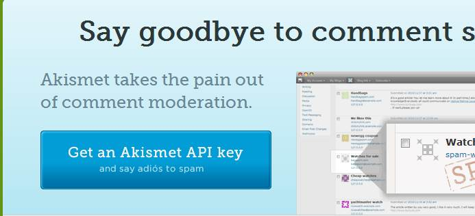 Официальный сайт плагина Akismet