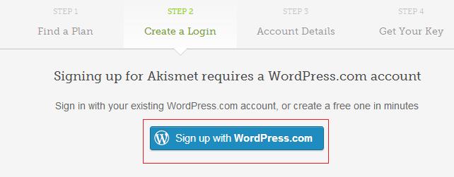 Регистрация для WordPress